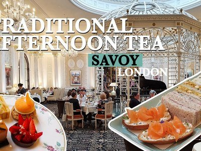 Stunning AFTERNOON TEA at Savoy - Best Afternoon Tea in London
