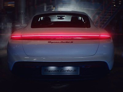 Porsche Unveils Its First-Ever Electric Car